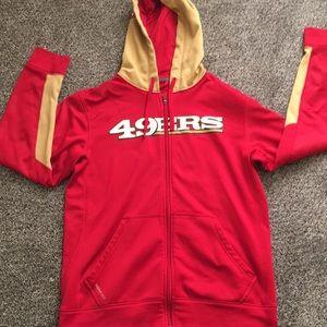 San Francisco 49er sweatshirt. Size small.